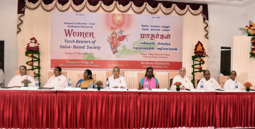 Women's Wing Guest at the Dias
