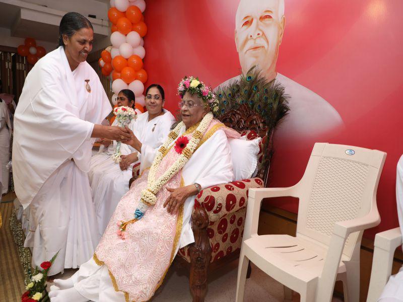 Param Adharniya Ishu Dadiji's Visit to Adyar, Chennai